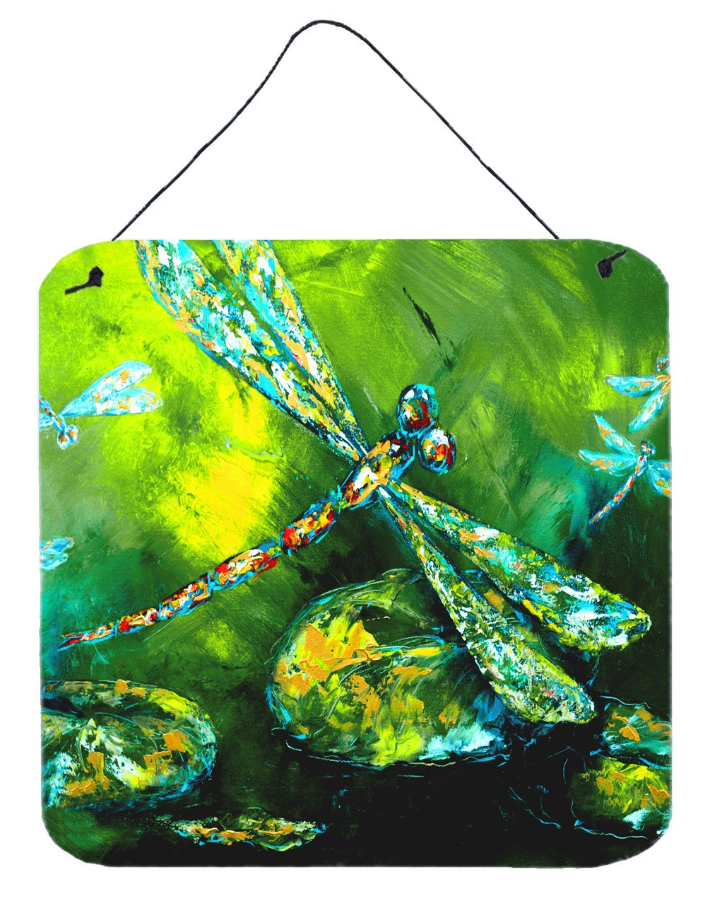 Buy this Insect - Dragonfly Summer Flies Aluminium Metal Wall or Door Hanging Prints