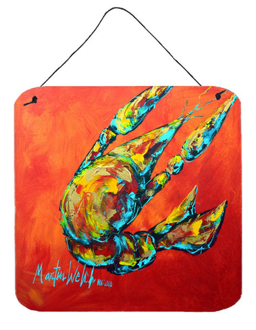 Buy this Crawfish Spicy Craw Aluminium Metal Wall or Door Hanging Prints