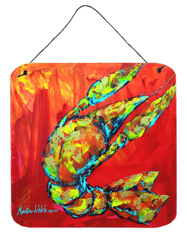 Buy this Crawfish Hot Craw Aluminium Metal Wall or Door Hanging Prints