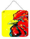 Bird - Rooster Big Head Aluminium Metal Wall or Door Hanging Prints - the-store.com