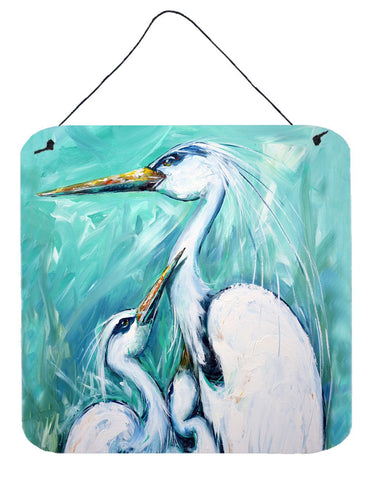 Buy this Mother's Love Egret Wall or Door Hanging Prints MW1145DS66
