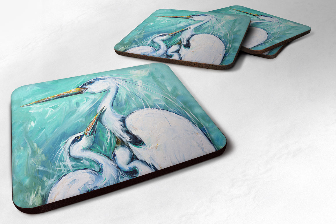 Buy this Mother's Love Egret Foam Coaster MW1145FC