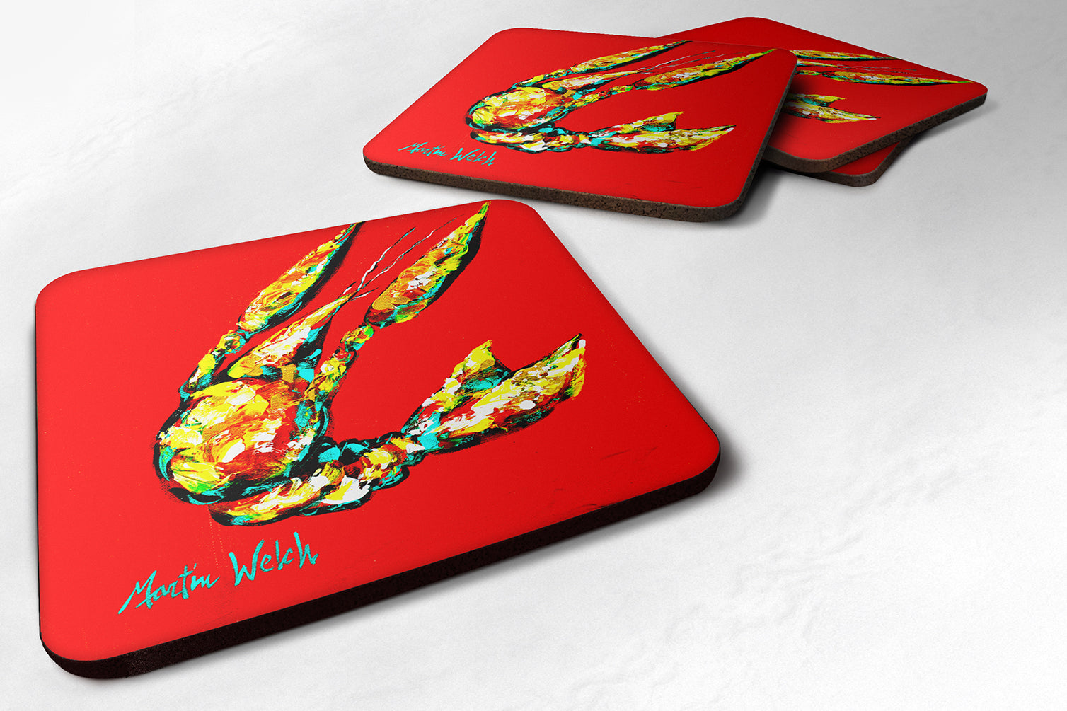 Buy this Crawfish Move Over Foam Coaster MW1146FC