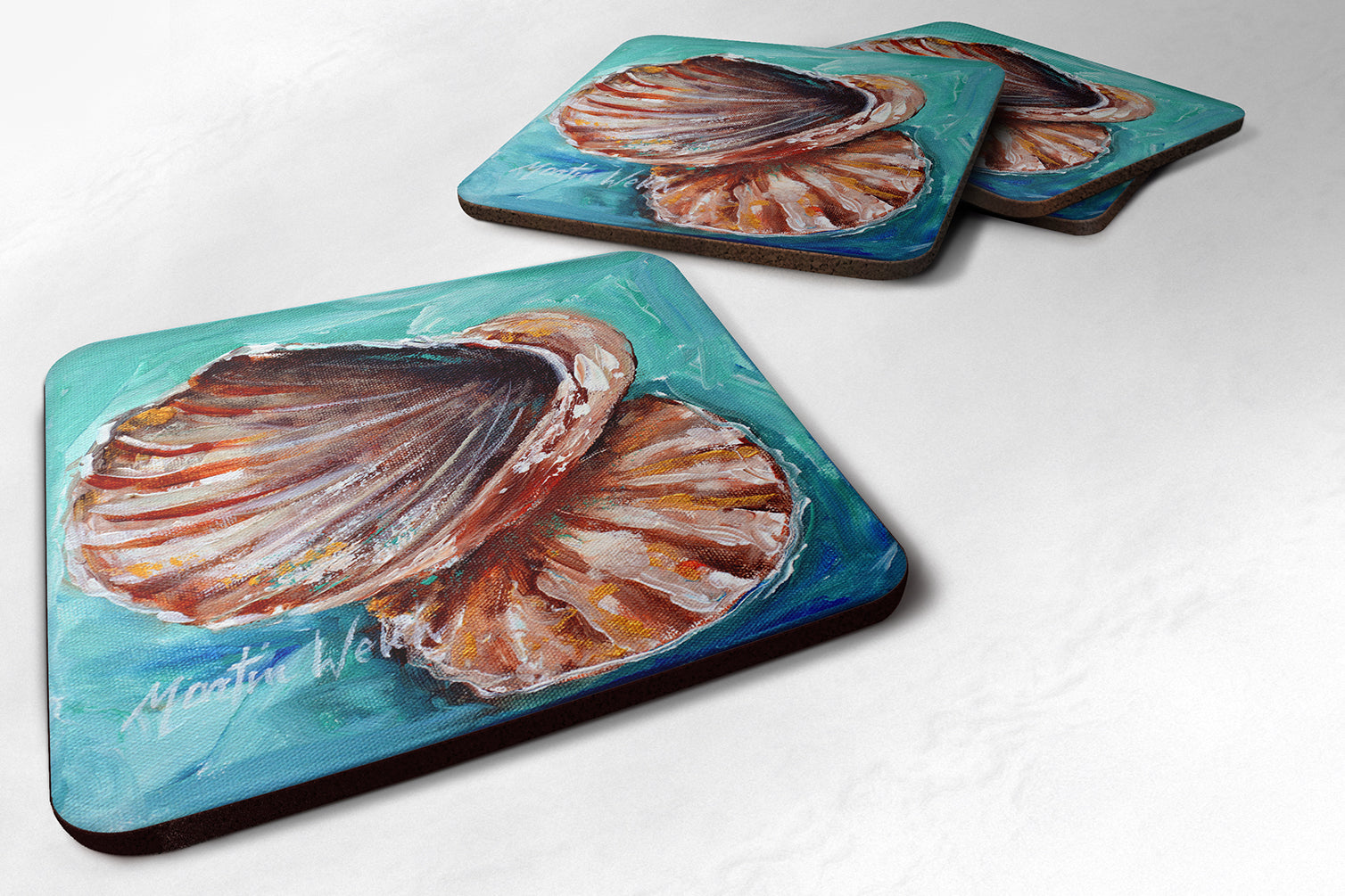 Buy this Shells not in a row Foam Coaster MW1147FC