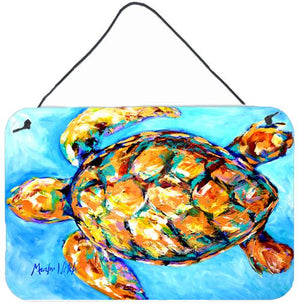 Buy this Sand Dance Turtle Aluminium Metal Wall or Door Hanging Prints