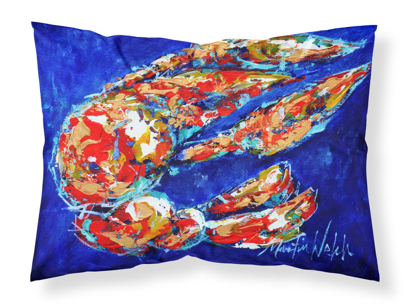 Buy this Craw Momma Crawfish Moisture wicking Fabric standard pillowcase