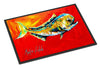 Danny Dolphin Fish Indoor or Outdoor Mat 24x36 - the-store.com