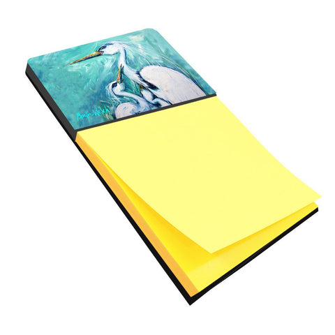 Buy this Mother's Love White Crane Refiillable Sticky Note Holder or Postit Note Dispenser MW1159SN