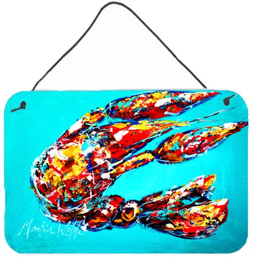 Buy this Lucy the Crawfish in blue Wall or Door Hanging Prints MW1161DS812