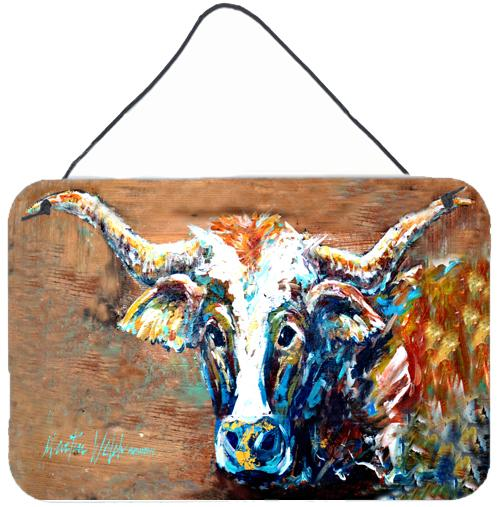 Buy this On the Loose Brown Cow Aluminium Metal Wall or Door Hanging Prints MW1165DS812