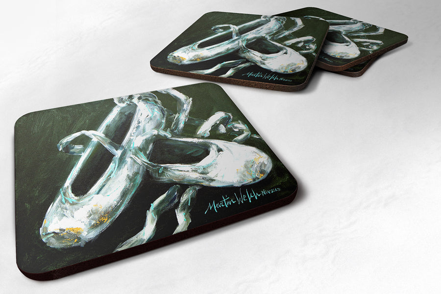 Buy this Ballet Golden Toes Foam Coaster MW1168FC
