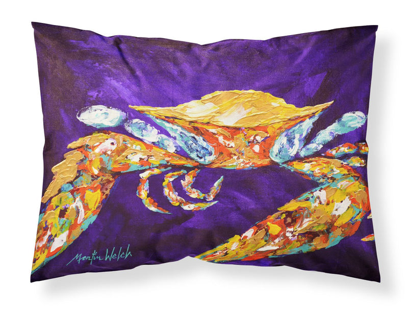 Buy this The Right Stuff Crab in Purple Moisture wicking Fabric standard pillowcase MW1172PILLOWCASE