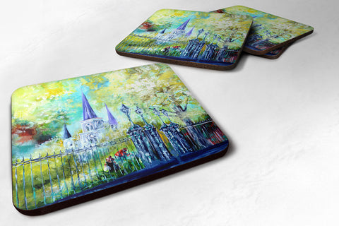 Buy this Across the Square St Louis Cathedral Foam Coaster MW1183FC
