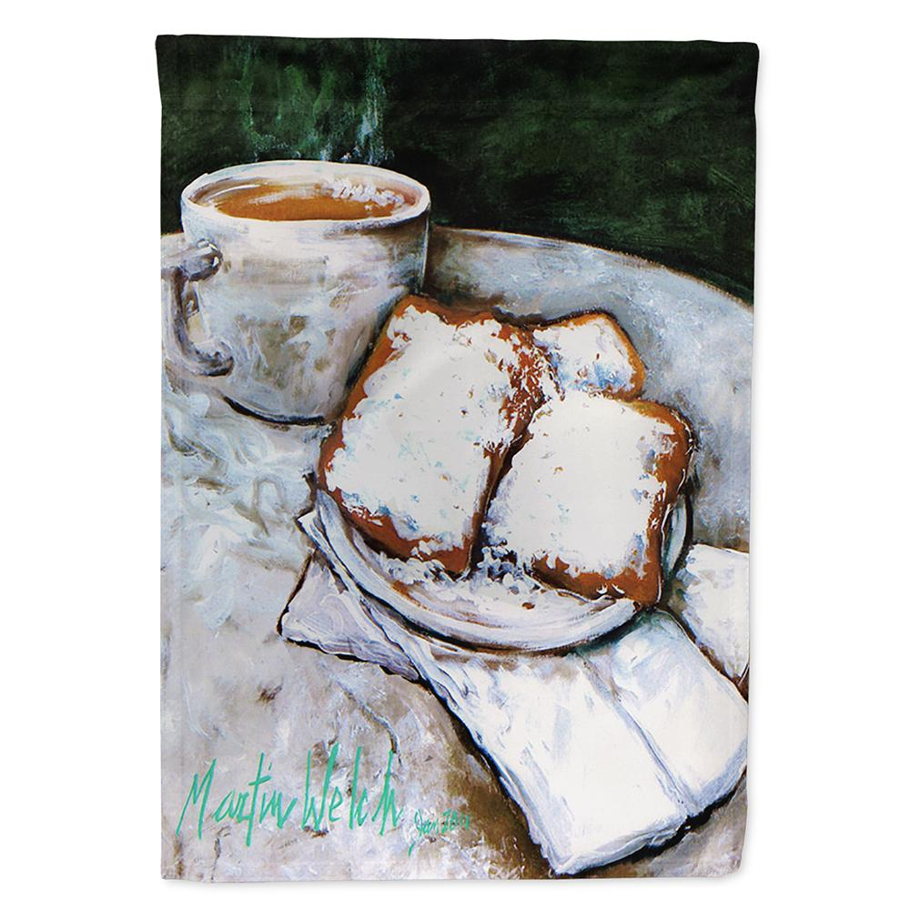 Buy this Beignets Breakfast Delight Flag Garden Size MW1189GF