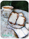 Beignets Breakfast Delight Mouse Pad, Hot Pad or Trivet MW1189MP by Caroline's Treasures