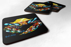 Buy this Winner Winner Black Fiddler Crab Foam Coaster MW1205FC