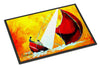 Sailboat Break Away Indoor or Outdoor Mat 24x36 MW1211JMAT - the-store.com