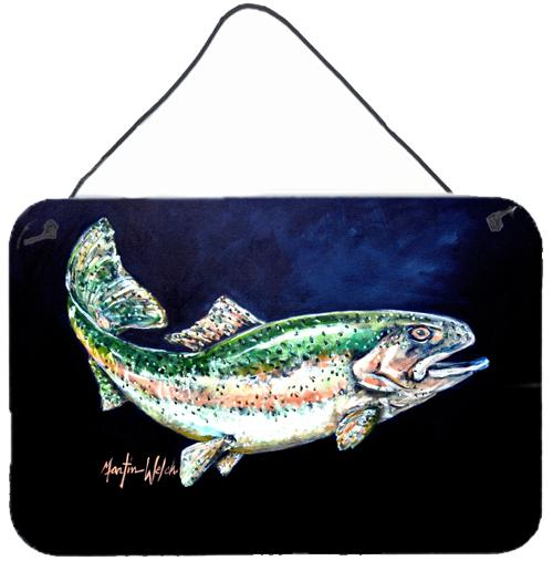Buy this Deep Blue Rainbow Trout Wall or Door Hanging Prints MW1213DS812
