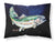Buy this Deep Blue Rainbow Trout Fabric Standard Pillowcase MW1213PILLOWCASE