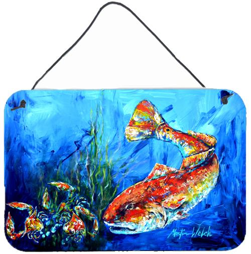 Buy this Scattered Red Fish Wall or Door Hanging Prints MW1214DS812