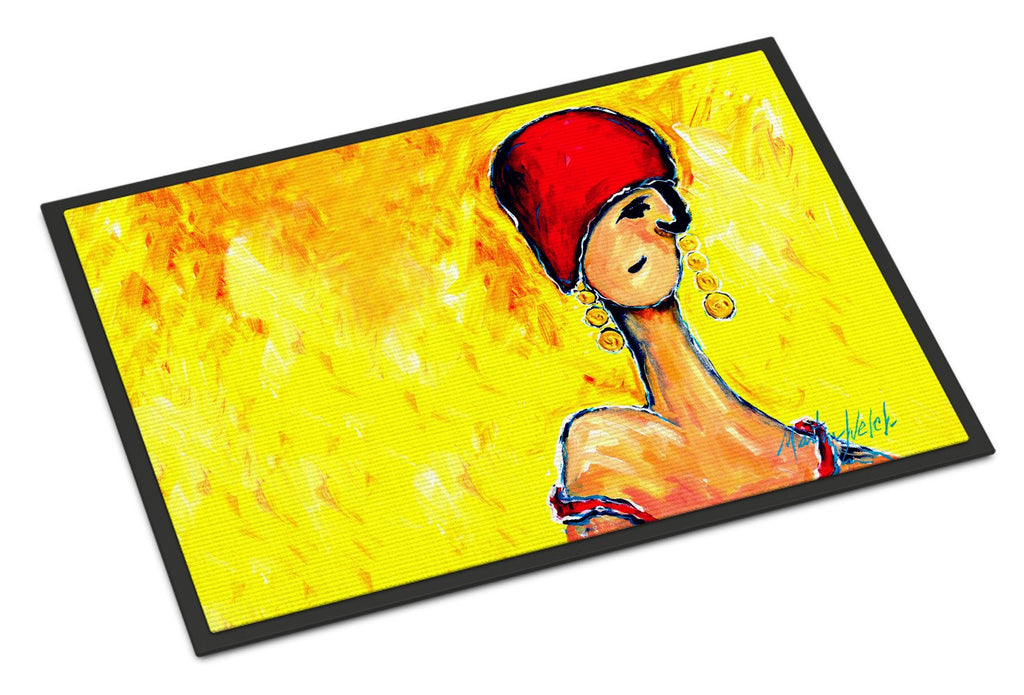 Buy this Azalines Earrings Lady Indoor or Outdoor Mat 24x36 MW1219JMAT