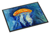 Calm Water Jellyfish Indoor or Outdoor Mat 24x36 MW1223JMAT - the-store.com