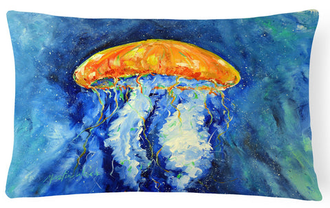 Buy this Calm Water Jellyfish Fabric Decorative Pillow MW1223PW1216