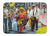 Buy this Dancing in the Streets Mardi Gras Machine Washable Memory Foam Mat MW1224RUG