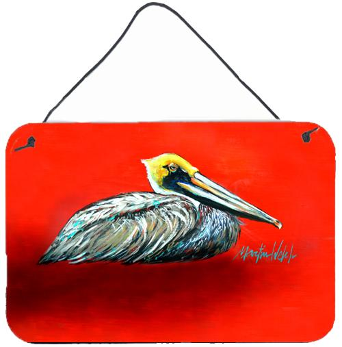 Buy this Sitting Brown Pelican Wall or Door Hanging Prints