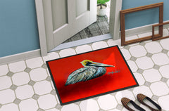 Sitting Brown Pelican Indoor or Outdoor Mat 24x36 MW1232JMAT