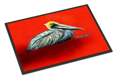 Buy this Sitting Brown Pelican Indoor or Outdoor Mat 24x36 MW1232JMAT