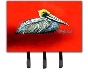 Buy this Sitting Brown Pelican Leash or Key Holder MW1232TH68