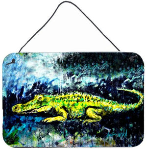 Buy this Sneaky Alligator Wall or Door Hanging Prints MW1233DS812