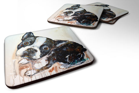 Buy this Boston Terrier Jake The Look Foam Coaster MW1238FC