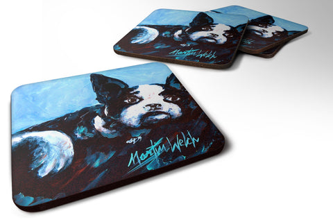 Buy this Boston Terrier Just Jake Foam Coaster MW1240FC