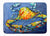 Blue Gray Kinda Day Crab Machine Washable Memory Foam Mat MW1269RUG by Caroline's Treasures