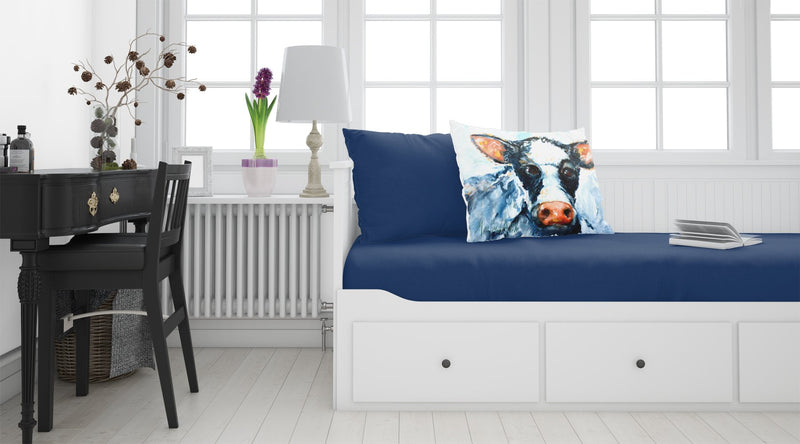 Buy this Cow Lick Black and White Cow Fabric Standard Pillowcase MW1273PILLOWCASE