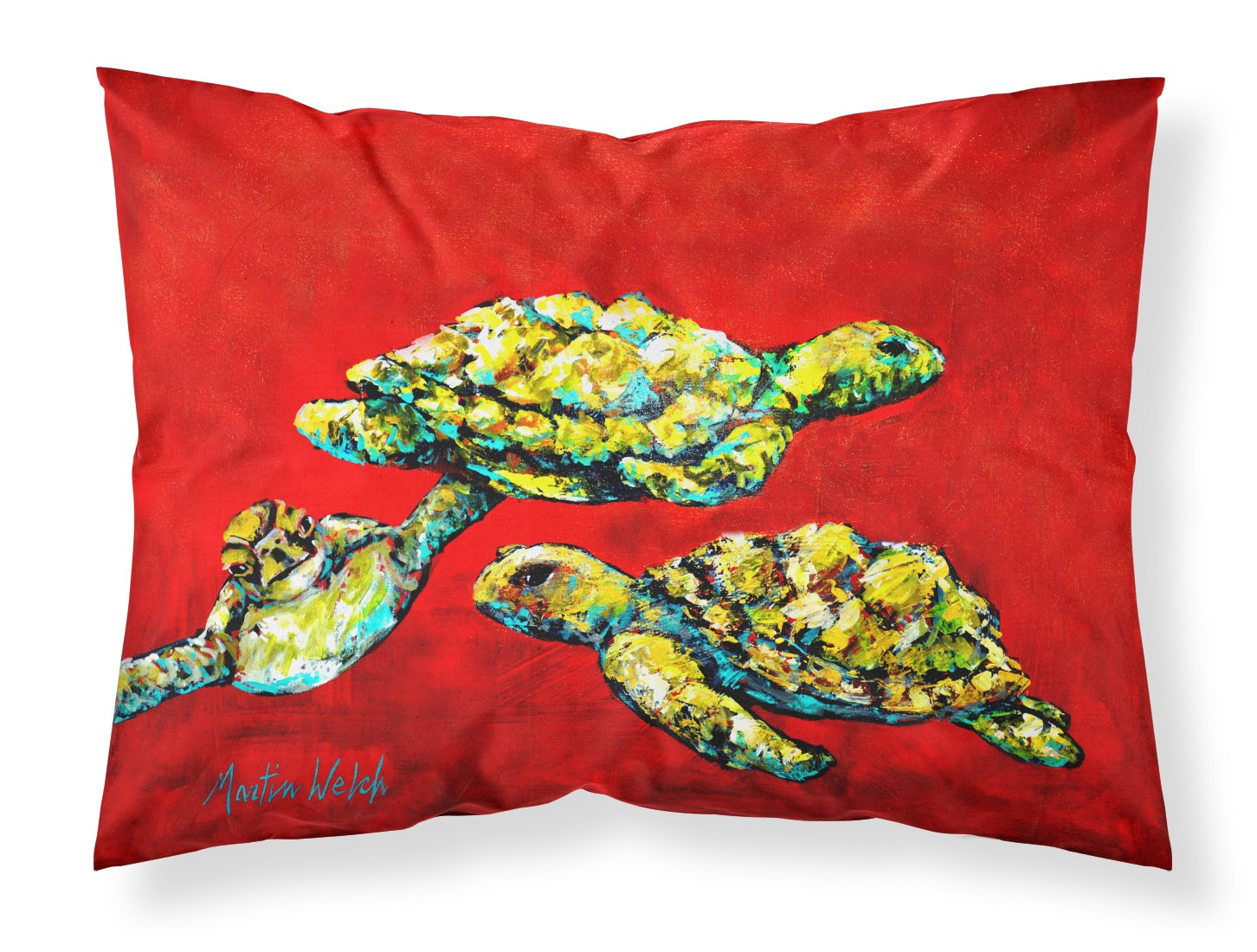 Buy this Drifting Home Turtles Fabric Standard Pillowcase MW1274PILLOWCASE