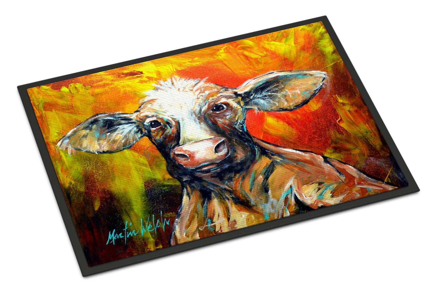 Buy this Happy Cow Indoor or Outdoor Mat 18x27 MW1277MAT