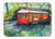 Buy this Little Red Street Car Machine Washable Memory Foam Mat MW1278RUG