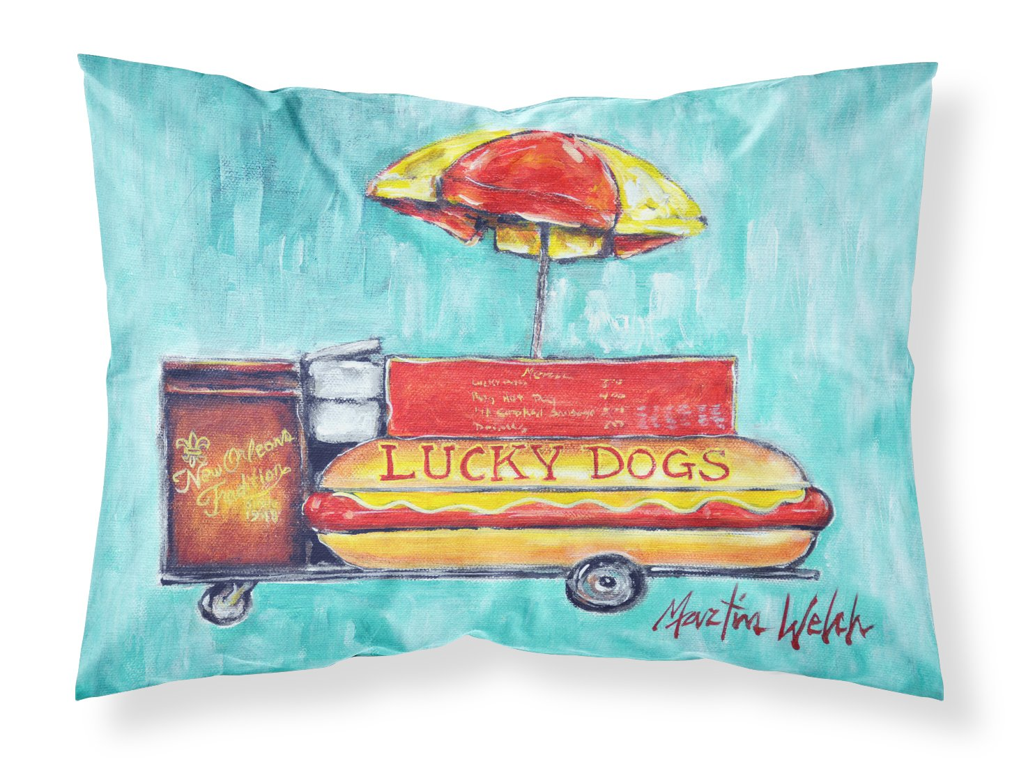 Buy this Lucky Dog for Me Fabric Standard Pillowcase MW1279PILLOWCASE
