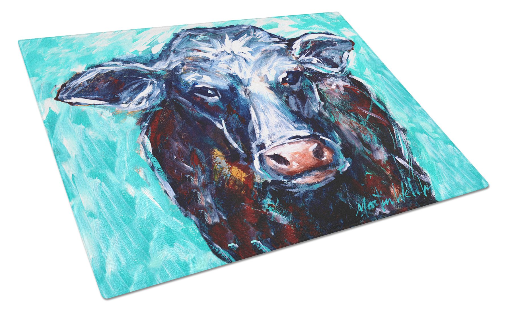 Buy this Moo Cow Glass Cutting Board Large MW1280LCB