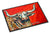 See Red Longhorn Cow Indoor or Outdoor Mat 24x36 MW1281JMAT by Caroline's Treasures