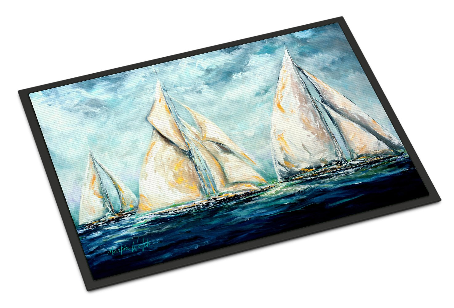 Buy this The Last Mile Sail boats Indoor or Outdoor Mat 24x36 MW1283JMAT