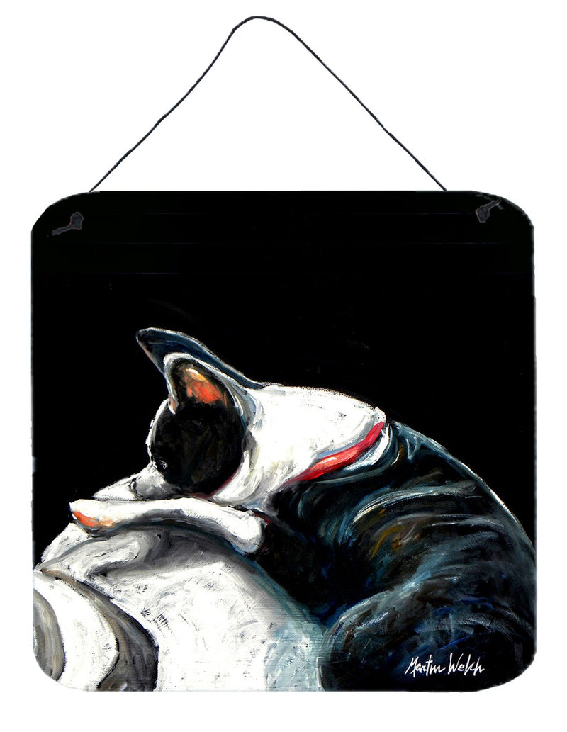 Buy this Boston Terrier Spot in the Sun Wall or Door Hanging Prints MW1315DS66