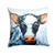 Buy this Cow Lick Fabric Decorative Pillow MW1320PW1414