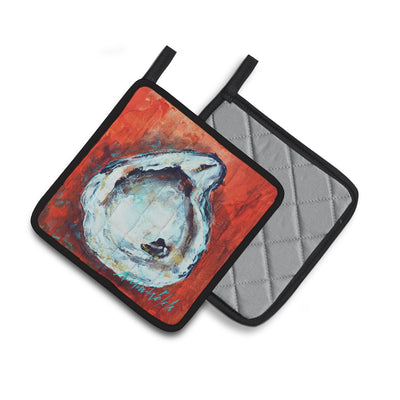 Char Broiled Oyster Pair of Pot Holders MW1321PTHD