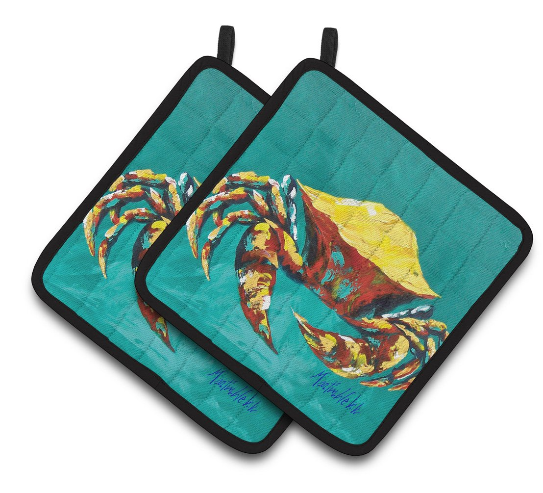 Buy this Crab Tunnel Pair of Pot Holders MW1322PTHD
