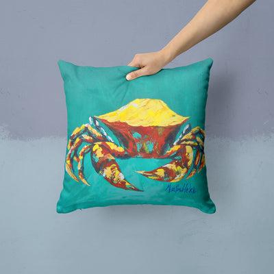 Crab Tunnel Fabric Decorative Pillow MW1322PW1414