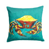 Buy this Crab Tunnel Fabric Decorative Pillow MW1322PW1414